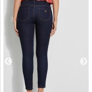 Power Low-Rise Guess Skinny Jeans